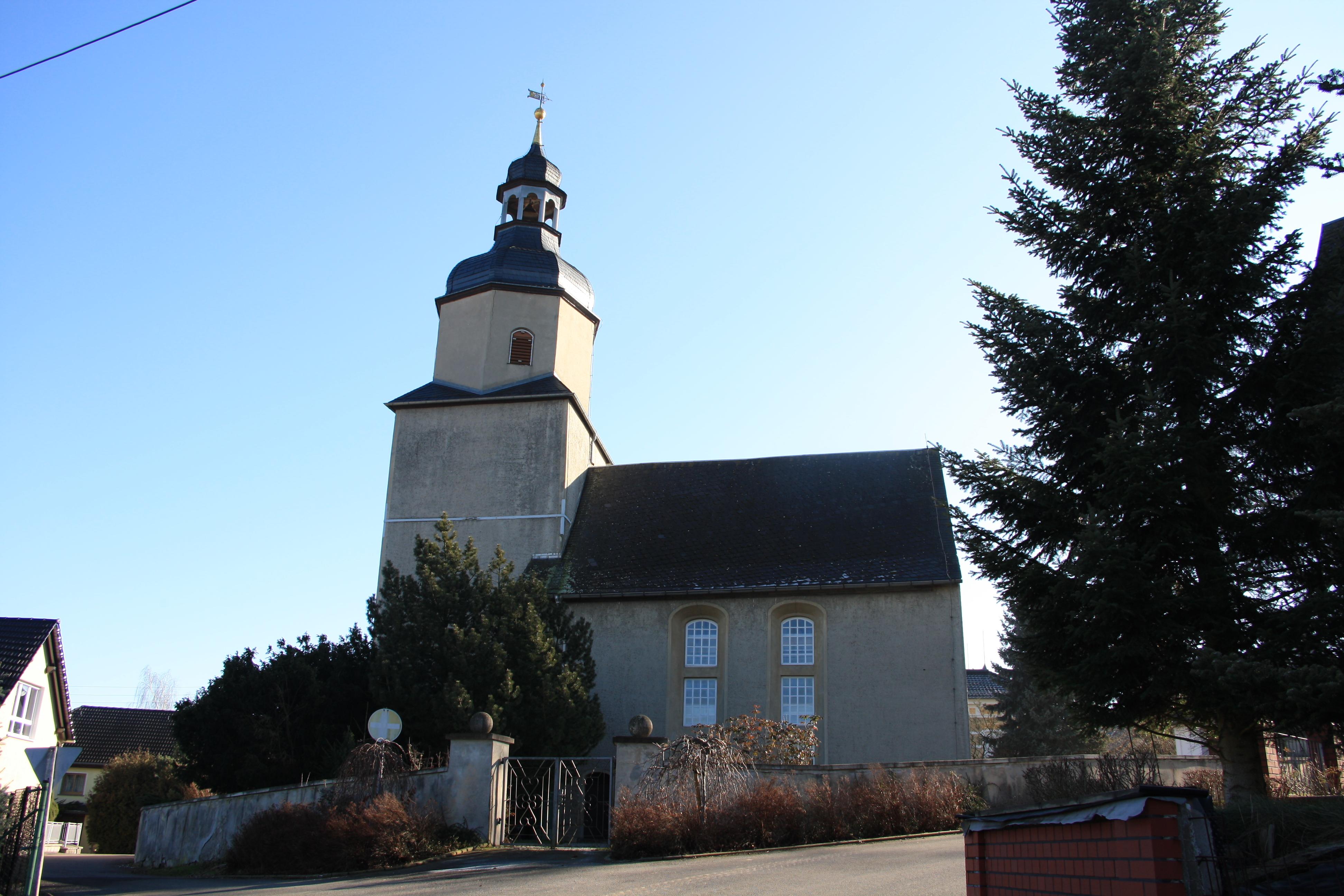 Kirche Vollmershain – Geschichte