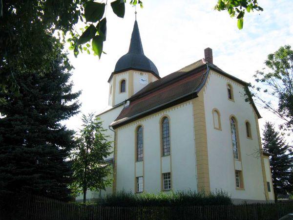Kirche Mannichswalde- Baugeschichte