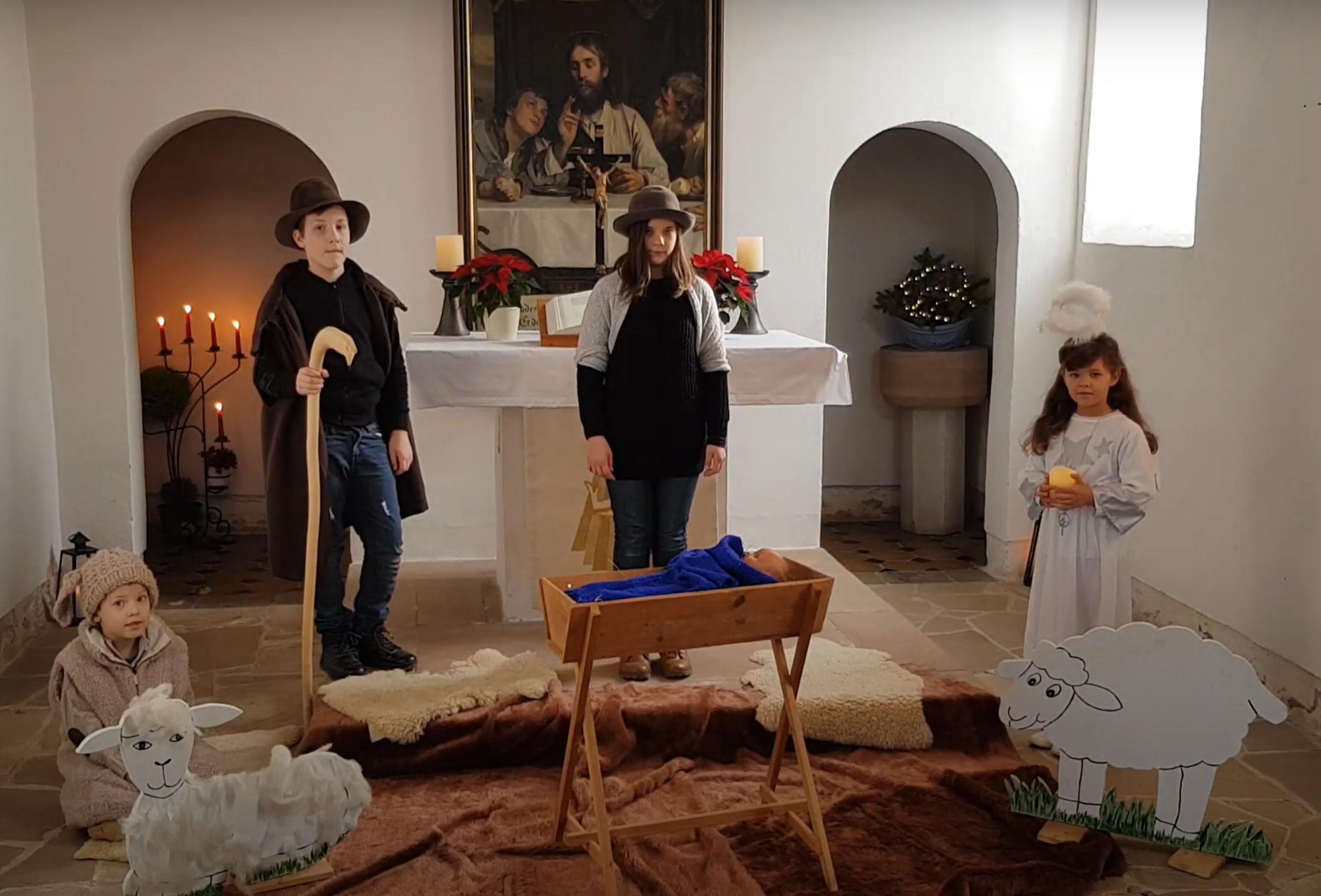 Online Gottesdienst des Kirchspiels Thonhausen in der Kirche Mannichswalde